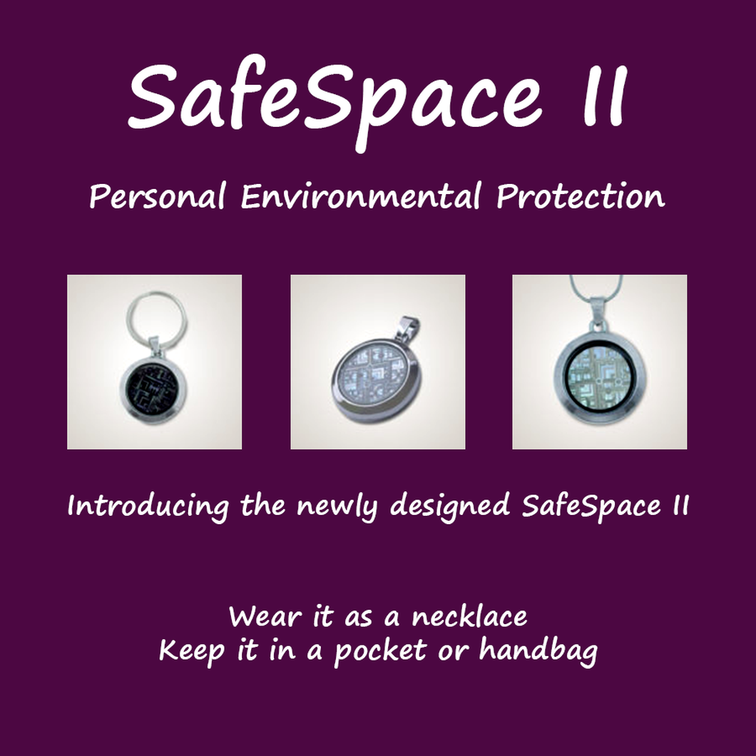 Emf protection energy equals wellness safespace ii personal environmental protection aloadofball Images