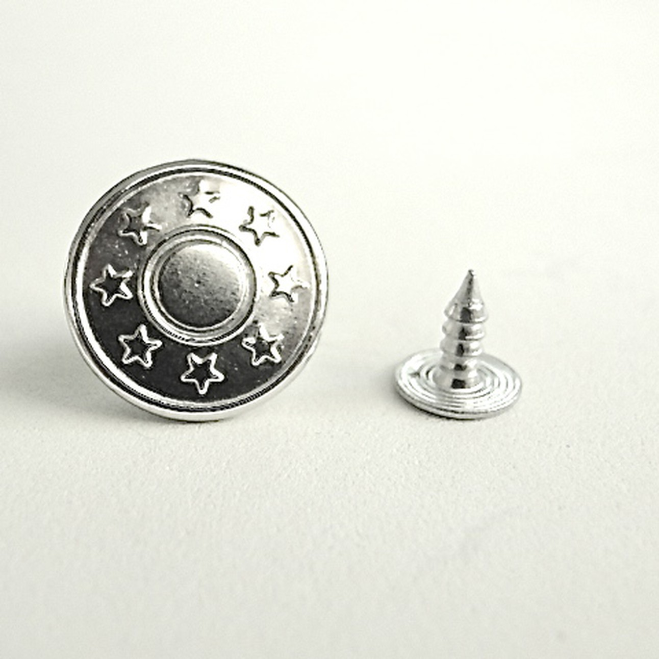 Nickel Replacement Jean Buttons