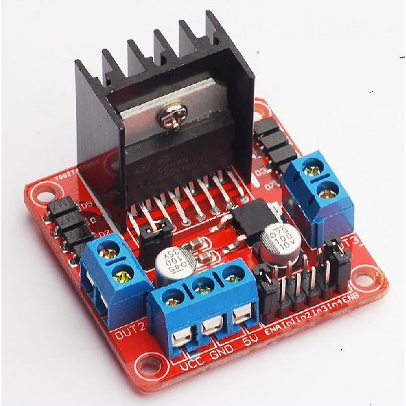 1005 L298n Module Dual H Bridge Stepper Motor Driver Boardfor L298 Circuit Diagram Arduino