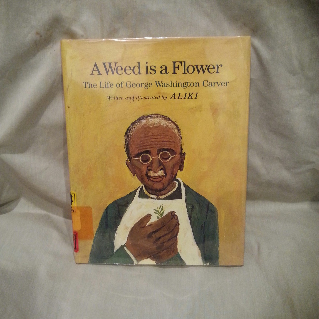 weed is a flower the life of george washington carver by aliki