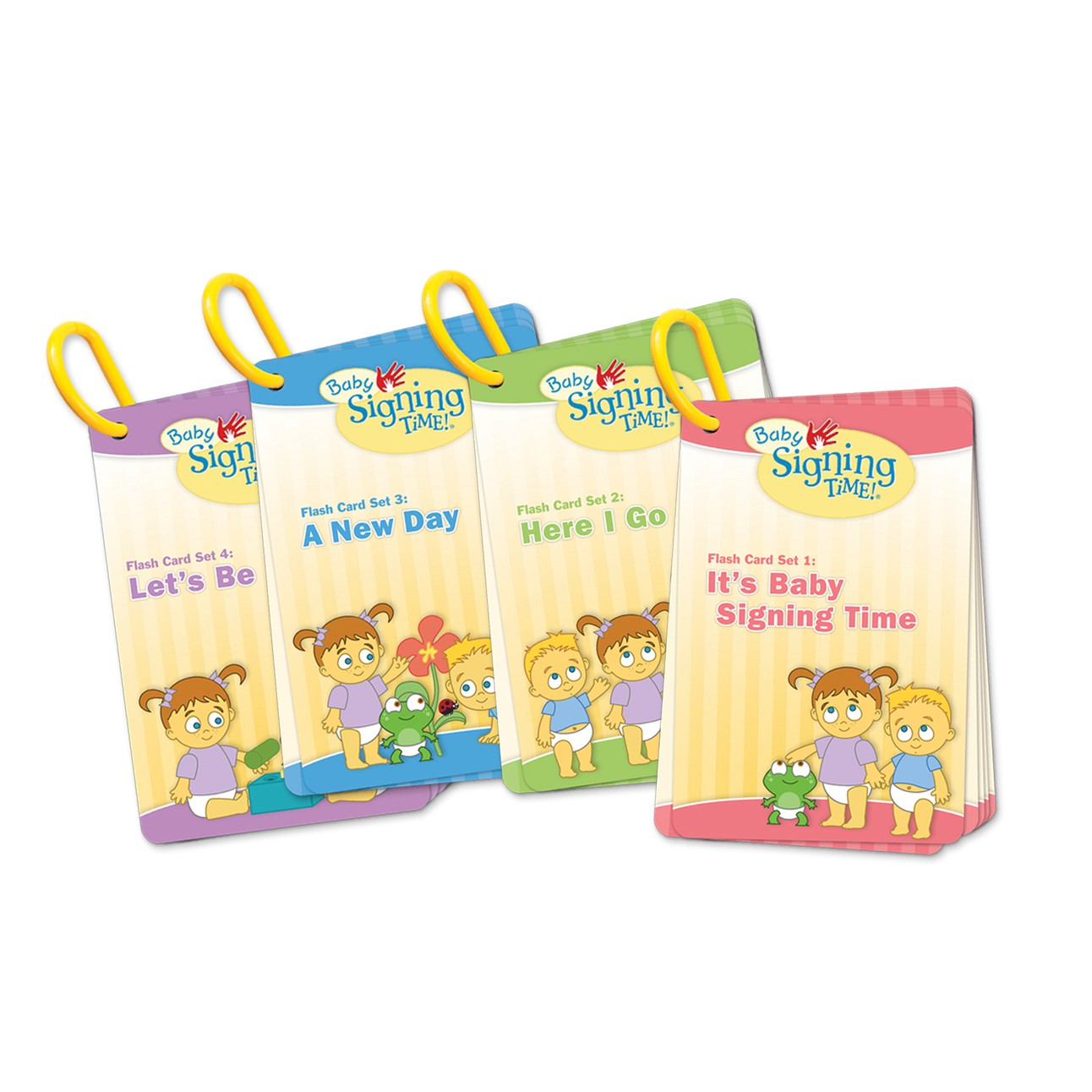 Baby Signing Time Flash Card Bundle