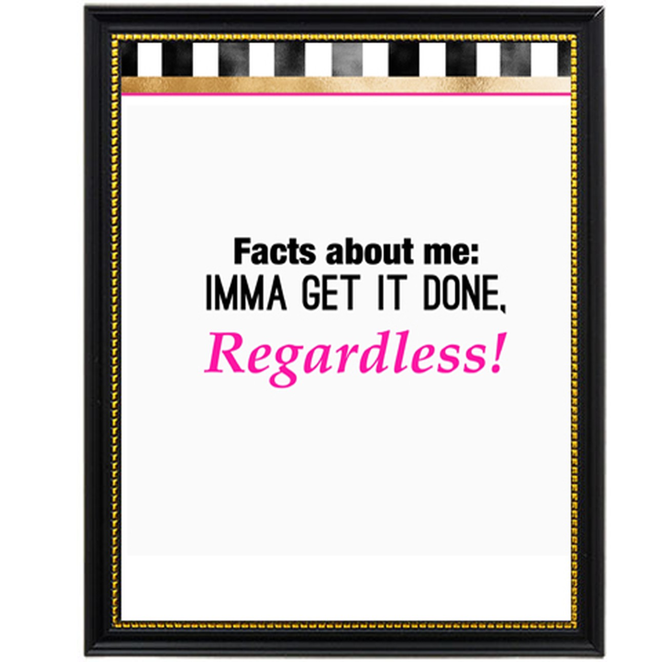 Facts About Me Picture Frame
