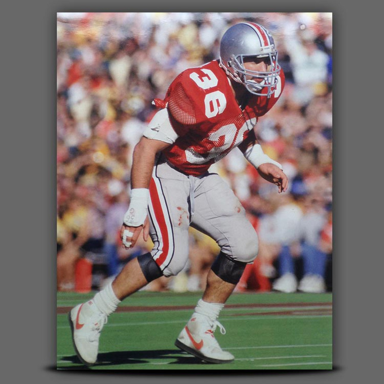 detailed pictures bc6b8 9a3e1 Chris Spielman Ohio State Buckeyes 11x14 Photo with custom ...