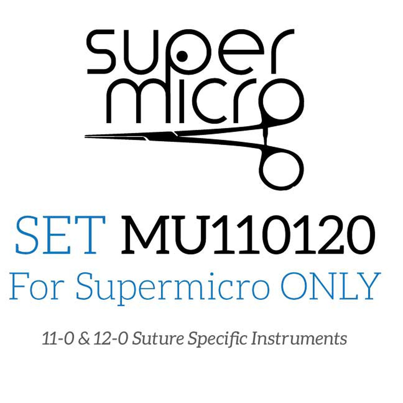 Super micro Only Surgical Instrument Set