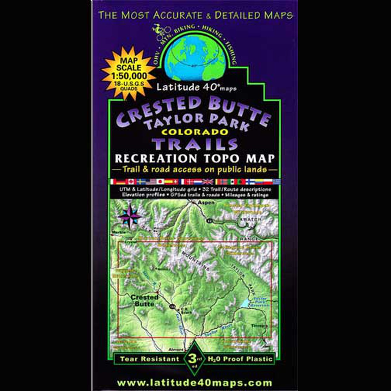 Taylor Park Colorado Map.Latitude 40 Crested Butte Taylor Park Colorado Trails Recreation