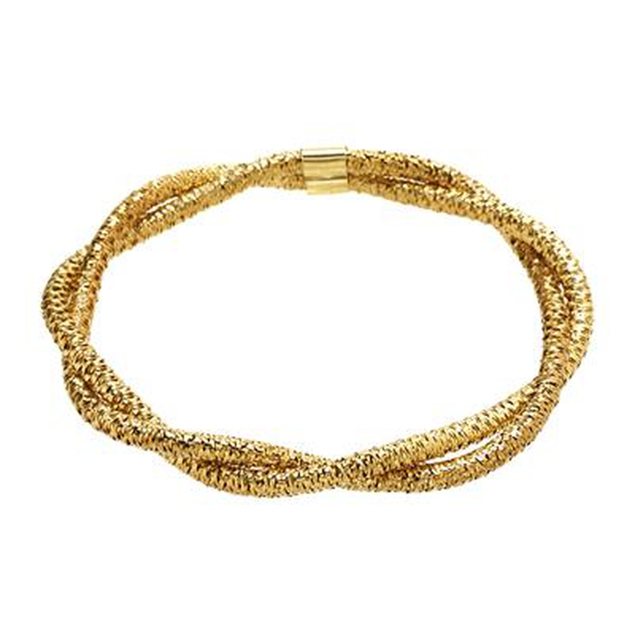 1a36694bd17 Italian Brand Bracelet in 14K Gold-Plated Over 925 Sterling Silver
