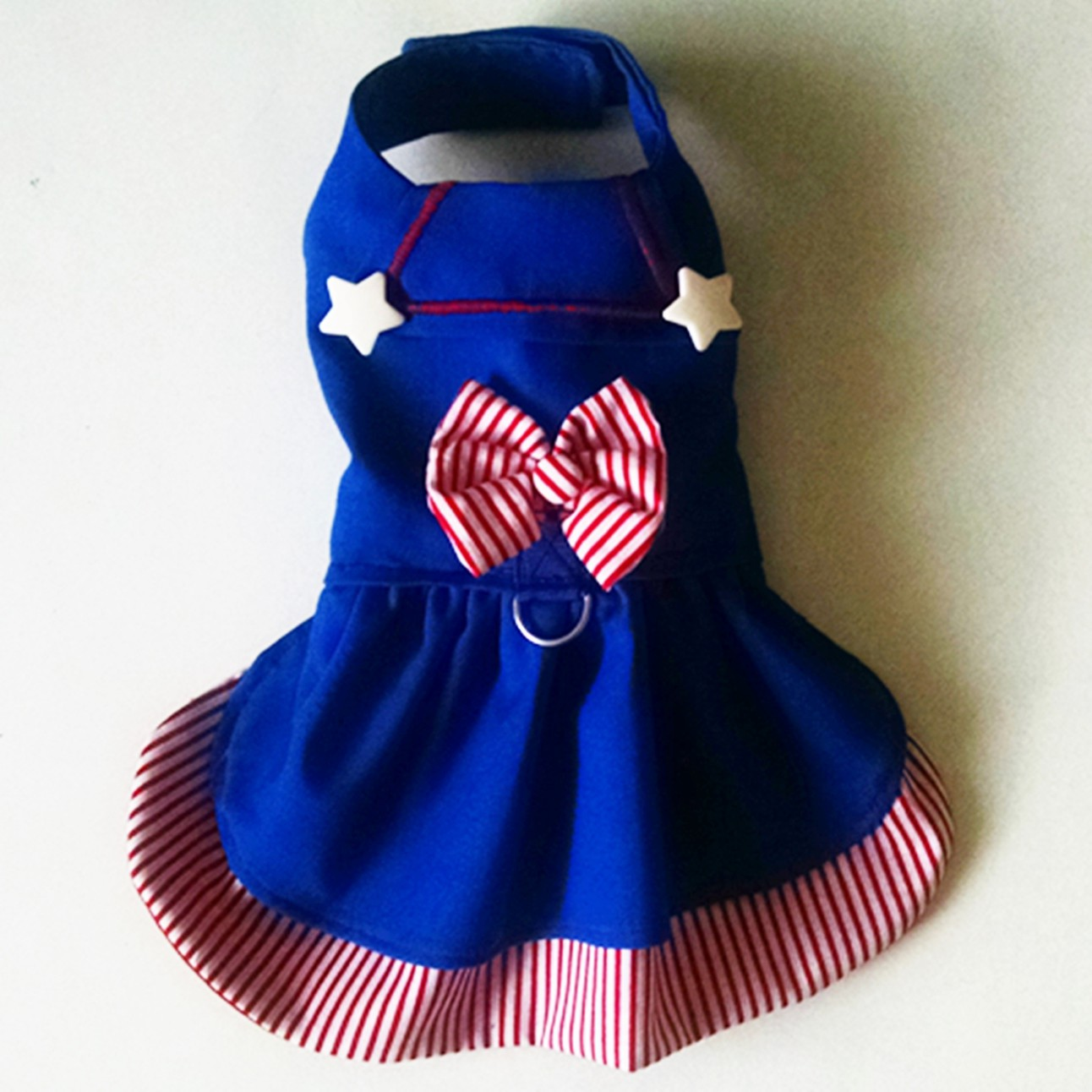 Harness Dress Nautical Sailor Dress Puppy Chihuahua Yorkie Teacup