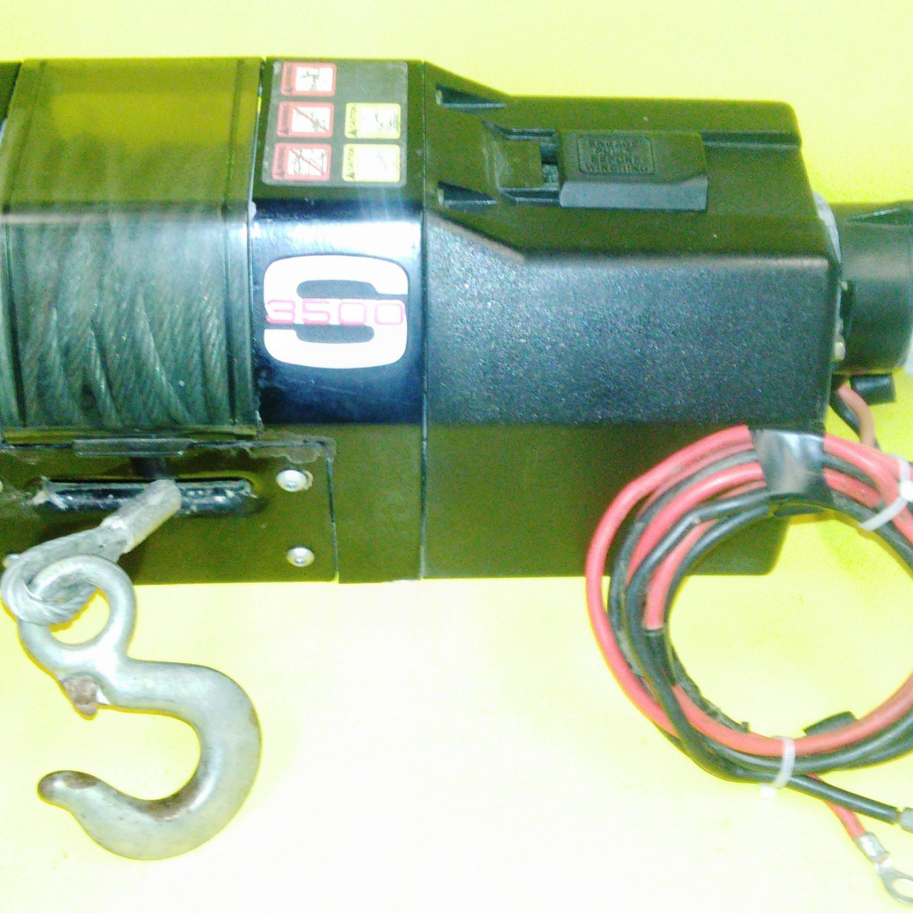 Superwinch S3500 Wiring Diagram Trusted Badland Winch 3500 Lbs 12v S Series 03502 Warn 2500