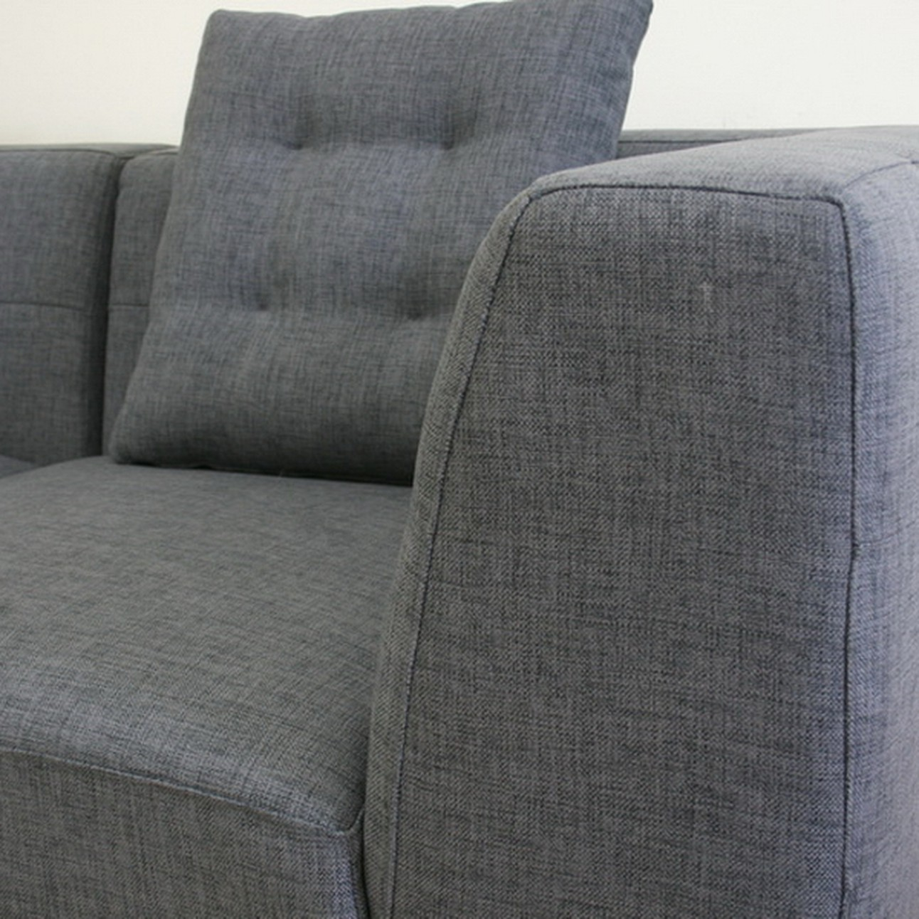 Surprising Alcoa Gray Fabric Modular Modern Sectional Sofa Caraccident5 Cool Chair Designs And Ideas Caraccident5Info