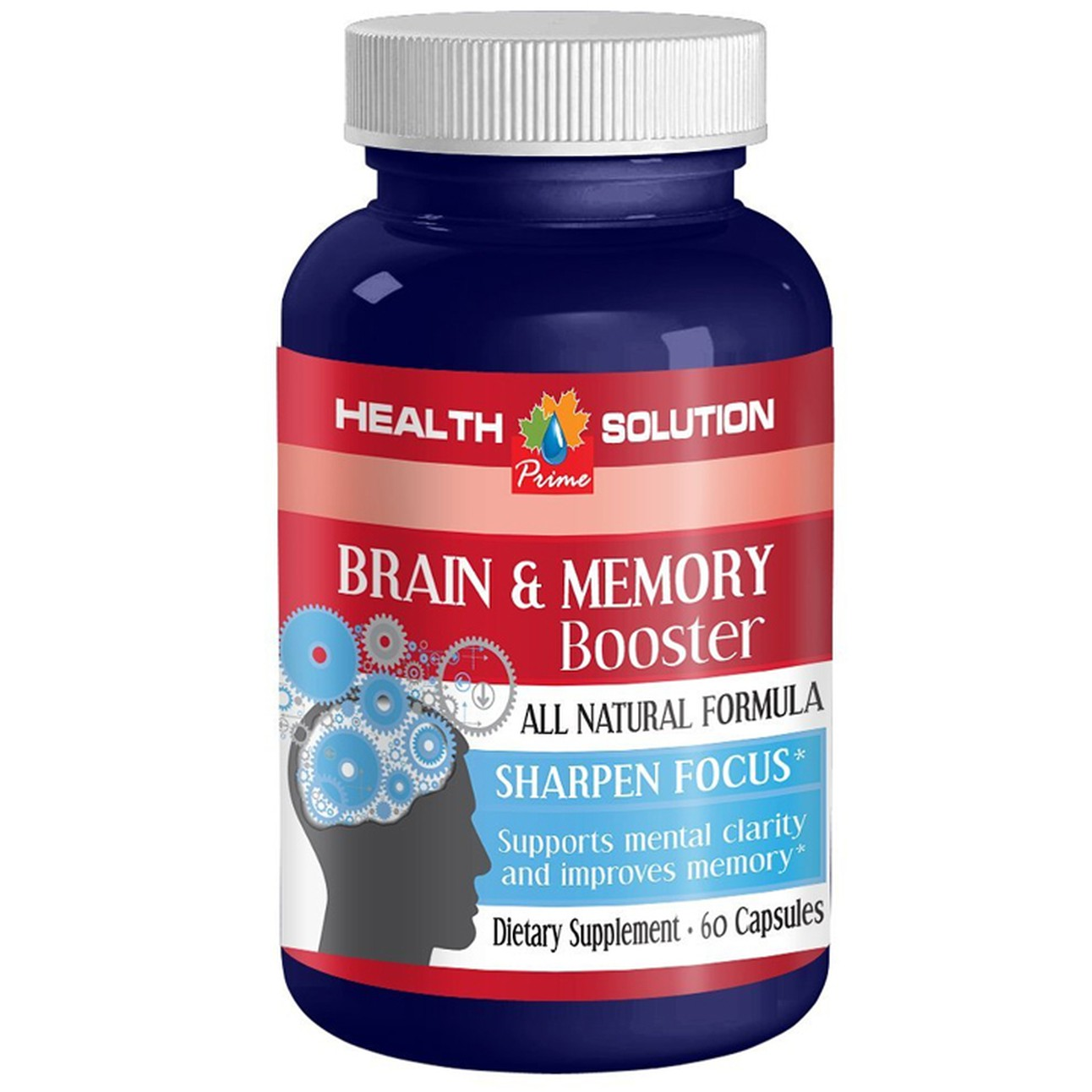 Brain Memory Booster Supplement Supports And Maintains Memory