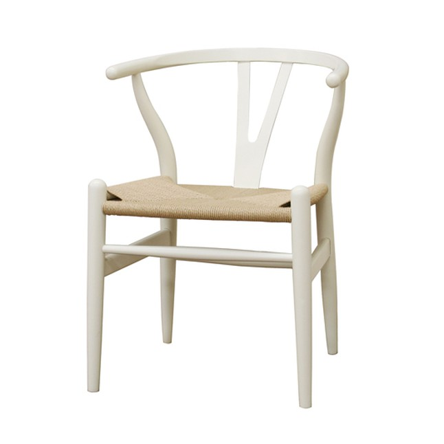 baxton studio wishbone chair ivory wood y chair dc 541 white