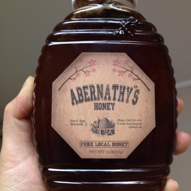 1 lb Jar Abernathy's Honey