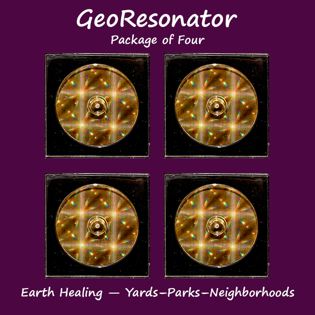 Georesonator package of four aloadofball Images