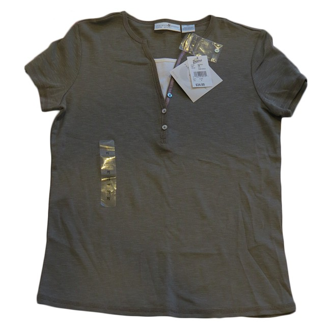 02f8ad232440 Size Petite Small NWT Brown Shirt