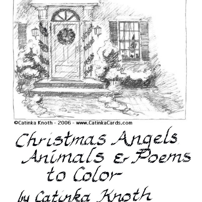 Christmas Coloring Book Pdf