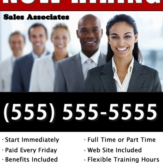 Mca Now Hiring Flyer