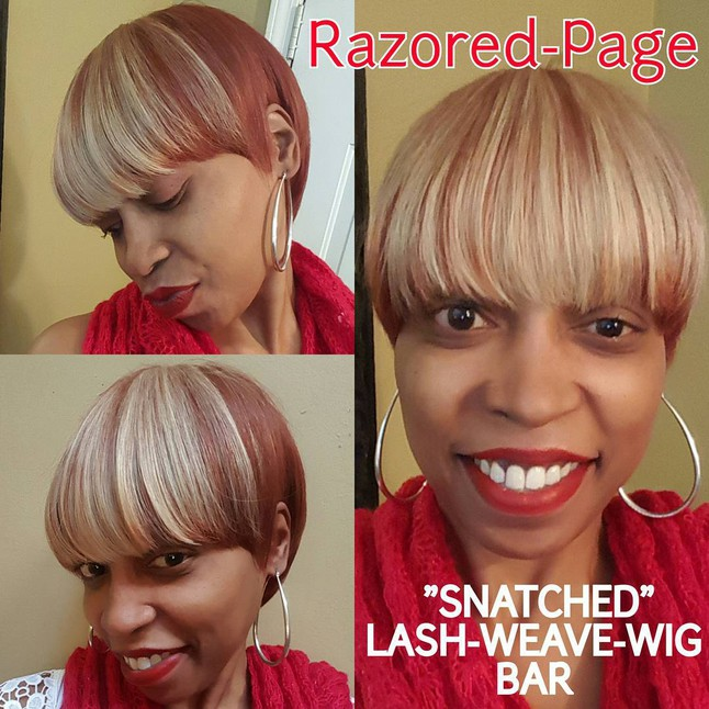 The Short Taper Page Hair Illusions Custom Weave Cap