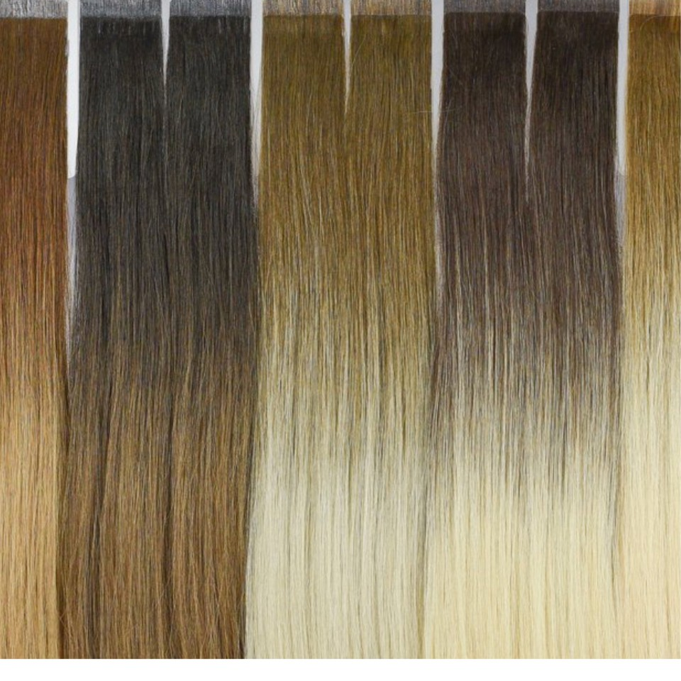 Tape In Hair Extensions Hand Tied Hair Tape In Micro Bead